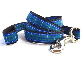 Douglas Tartan Small/Medium Dog Leash/ Lead 5'