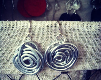 Rosebud Earrings