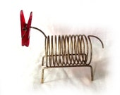 60s Mail Sorter Wire Card Holder