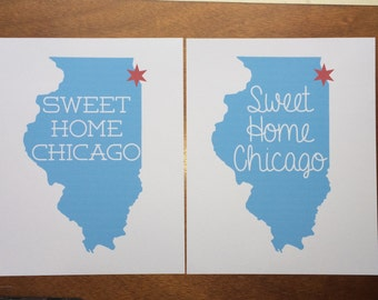 Sweet Home Chicago – 8x10 Print
