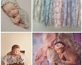 Newborn Fabric Layers Photo Props, Floral Pastel Lace, Baby, Newborn Photography Props, Lace, Vintage, Girl Props, Flowers, Layering, Girls