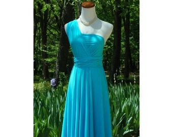 USA, Turquoise , convertible dress, infinity dress, bridesmaids dresses