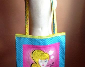 Big Barbie Tote Bag
