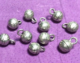 Basketball Pewter Charms
