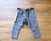 Denim Pocketed Pants - size 4 - 6 youth