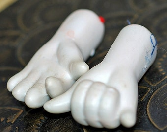 WHAT will it be...  little ceramic doll's hands...  Nov K