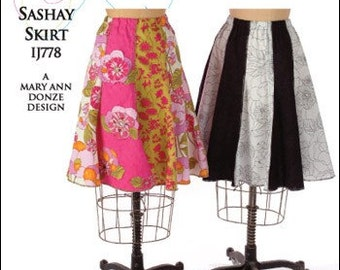 Sashay Skirt Indygo Junction Sewing Pattern IJ778