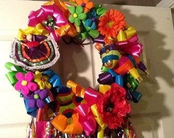 Fiesta Wreath Viva Fiesta 18-22 inches no shipping if you pick up