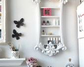 Ornate Nail Polish Display - Shelving Display - Shabby Chic