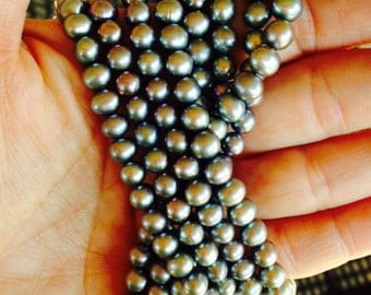 Silver Freshwater Pearls