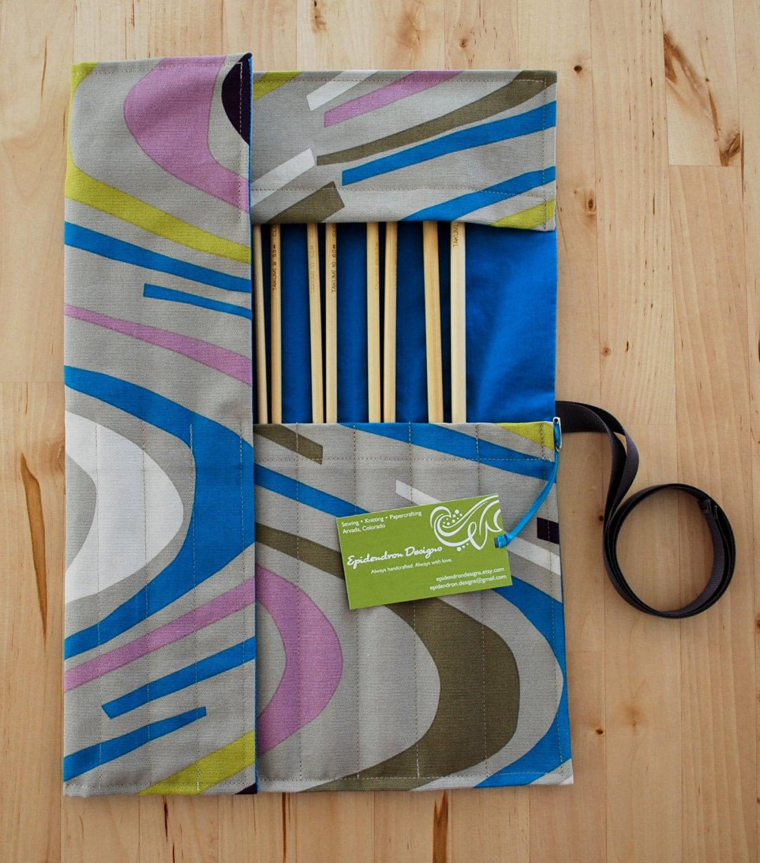 Knitting Needle Organizer : Knitting needle case organizer holder for by