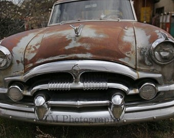 Packard - Rusty Packard - Old Packard - Old Car - Classic - Old Car Photo - Fine Art Photography