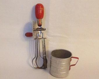 Vintage Kitchen- Childs toy kitchen utensils