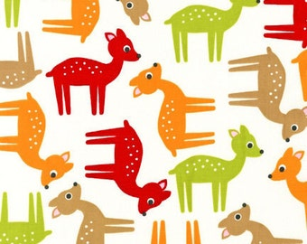 Robert Kaufman Fabric Ann Kelle Deer Bermuda, Choose your cut