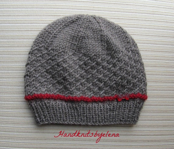 Knitting Pattern Numbers : Instant Download Number 191 Knitting Pattern Hat