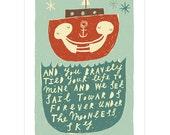 Towards Forever - Fine Art Print
