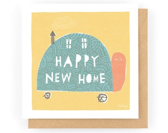 Happy new home - Greeting Card (1-117C)