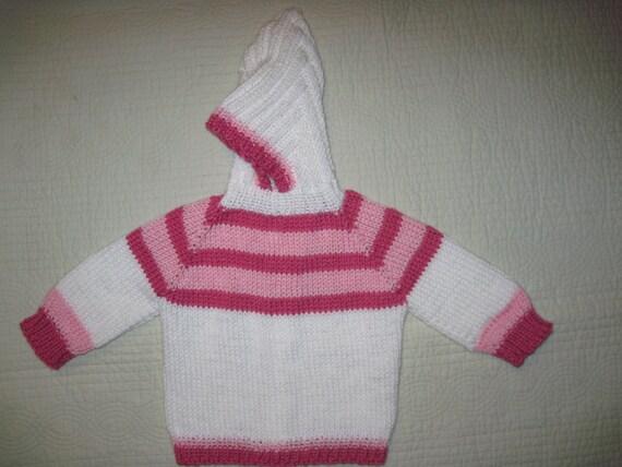 baby pullover hand stricken r cken zip kapuzen sweatjacke. Black Bedroom Furniture Sets. Home Design Ideas