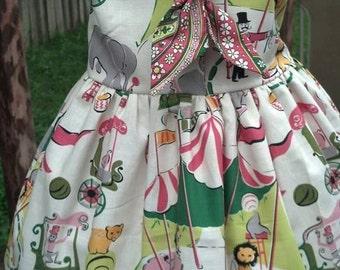 Circus Themed Sailor Dress