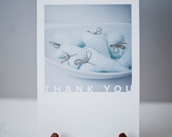 Thank you heart Note card