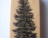 PSX Spruce/Evergreen Tree Rubber Stamp -- NEW -- K 1465