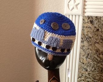 Ready to Ship Baby Boy Train  Hat Blue Trains Cap Toboggan Crochet Crocheted Handmade Beanie