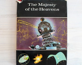 Vintage children science book - The Majesty of the Heaven