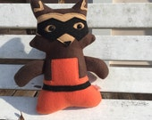 Baby Raccoon Plush - Two left!