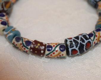 Handmade African Beaded Bracelet