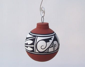 Southwest Ornament Bulb Cinnamon
