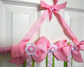 New Flower Hair Bow Holder- Boutique Style-Organizer-Storage