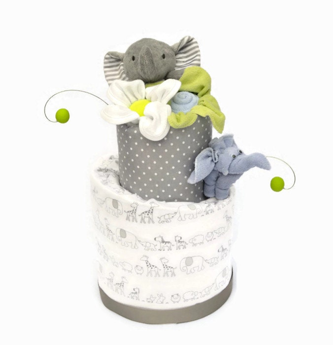 Elephant shower decor elephant baby shower ideas grey for Decoration elephant