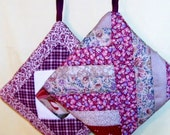 POT HOLDERS (#16) Pair Country Red, Traditional Quilt Pattern, US, Americana, Patchwork, Modern, Contemporary,  Traditional Quilt Pattern,