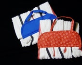 TOWEL #8 Kitchen Peg Hanger, Red White Blue Patriotic,  Dog Paw Wiper, US, Gift  Studio Laundry Utility Camping BBQ Work Shop Bathroom,
