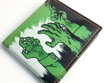 Billfold Vinyl Art Wallet - Money Monsters by Andrew Bargeron