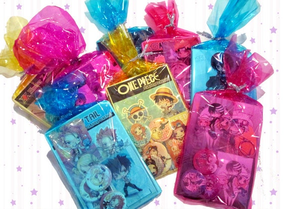 Holiday Gift Sets - Anime Keychains, Bookmarks, Stickers & More