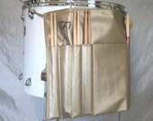 Roll It Ups Drumstick Bag : Drum Stick Bag Drummer Gift for Drummer Gold Vinyl