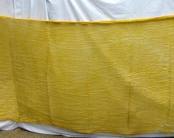 Silk Veil Gold Yellow Bellydance