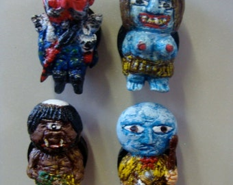 Yama (Mountain)Youkai(Japanese Monsters)Magnet Set A