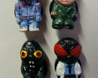 Classic Monster  Refrigerator Magnets set C (Full Body Cutie Style)