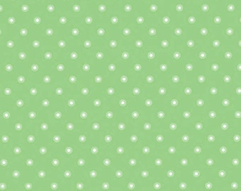 Pam Kitty Garden LH14020LEAF Lakehouse Dry Goods Cotton Fabric Leaf Small Ringed