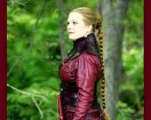 Legend of the Seeker braid Mord Sith style cosplay Long braid Custom color plait plaited belly dance costume wig hair fall reenactment hair