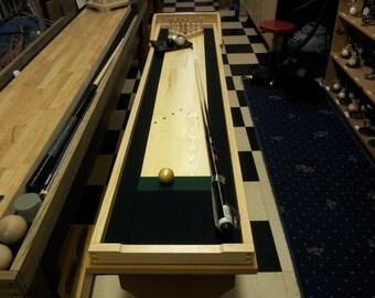 Cue Bowling Elite Portable Table Top Bowling Game