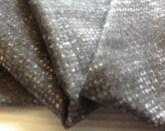 Cloth Napkins - Faux Burlap - Dark Gray - 100% Cotton