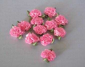 Pink Ribbon Roses (One dozen)