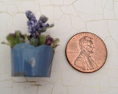 dollhouse miniature flower pot