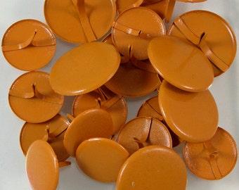 Big Orange Paper Brads