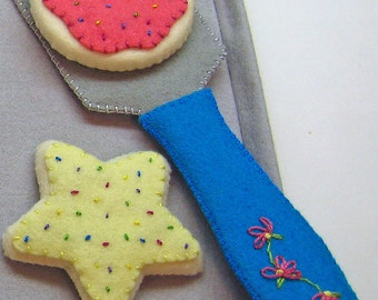 Felt Play Food - Cookie Baking Set