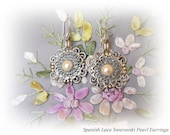 holiday sale vintage victorian style earrings jewelry