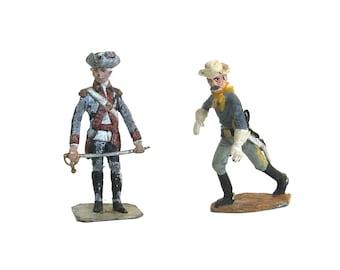 vintage toy lead soldiers   ...   american revolutionary war  cavalryman ...  civil war   ...   hessian french  ...   figures